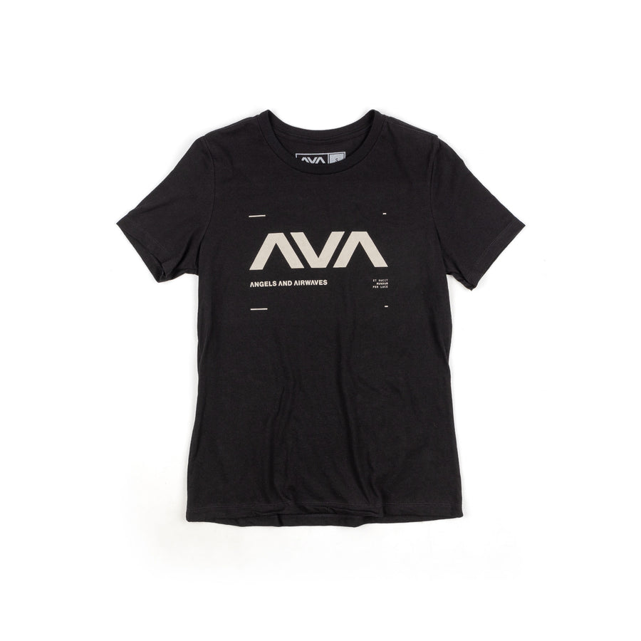Angels & Airwaves Data Women's T-Shirt Black
