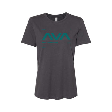 Data Womens T-Shirt Dark Grey/Teal | Angels and Airwaves