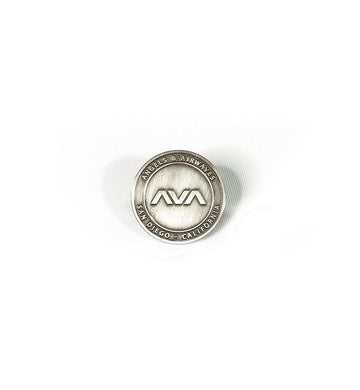 Angels and Airwaves EDMPL Lapel Pin Antique Silver - To The Stars...