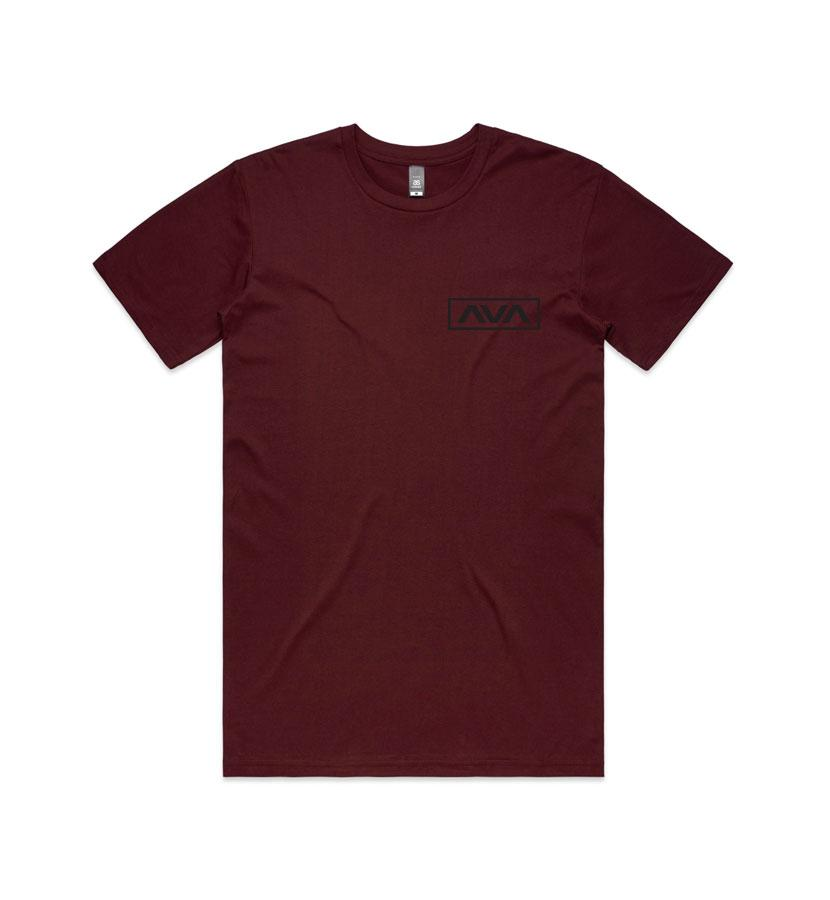 Angels and Airwaves EDMPL T-Shirt Burgundy front