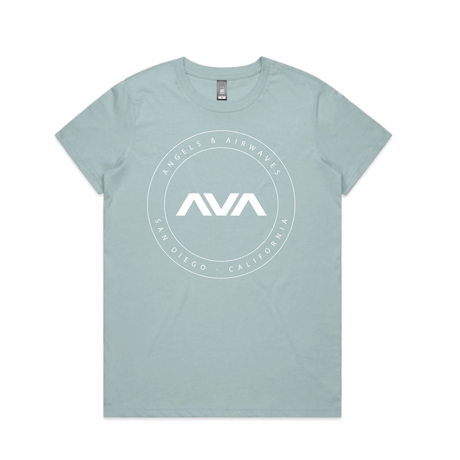 Angels & Airwaves EDMPL Women's T-Shirt Pale Blue | ToTheStars.Media