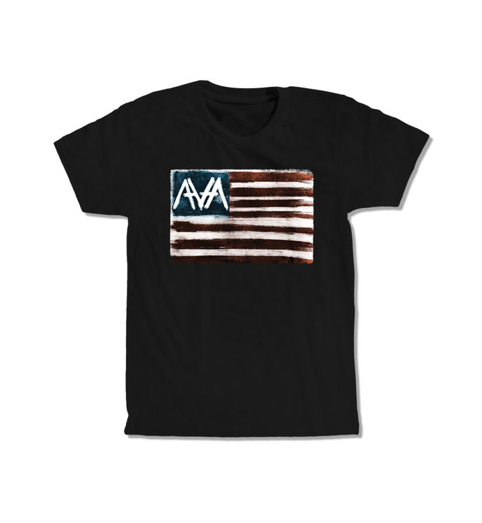 Angels and Airwaves Flag Banner T-Shirt Black - To The Stars...