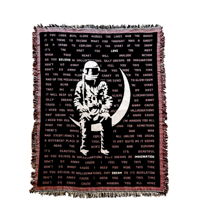 Hallucinations Knit Blanket