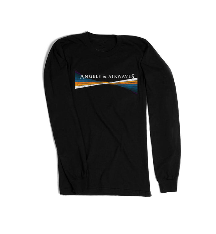 Angels and Airwaves Legacy Unisex L/S T-Shirt Black - To The Stars...
