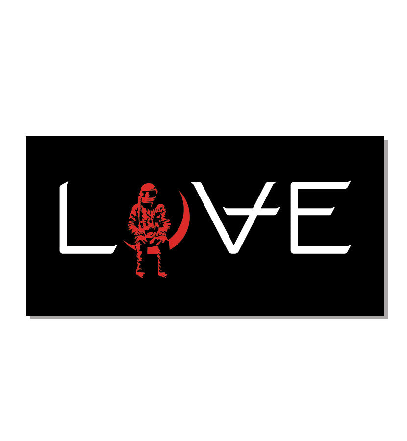Angels and Airwaves LOVE Bumper Sticker - To The Stars