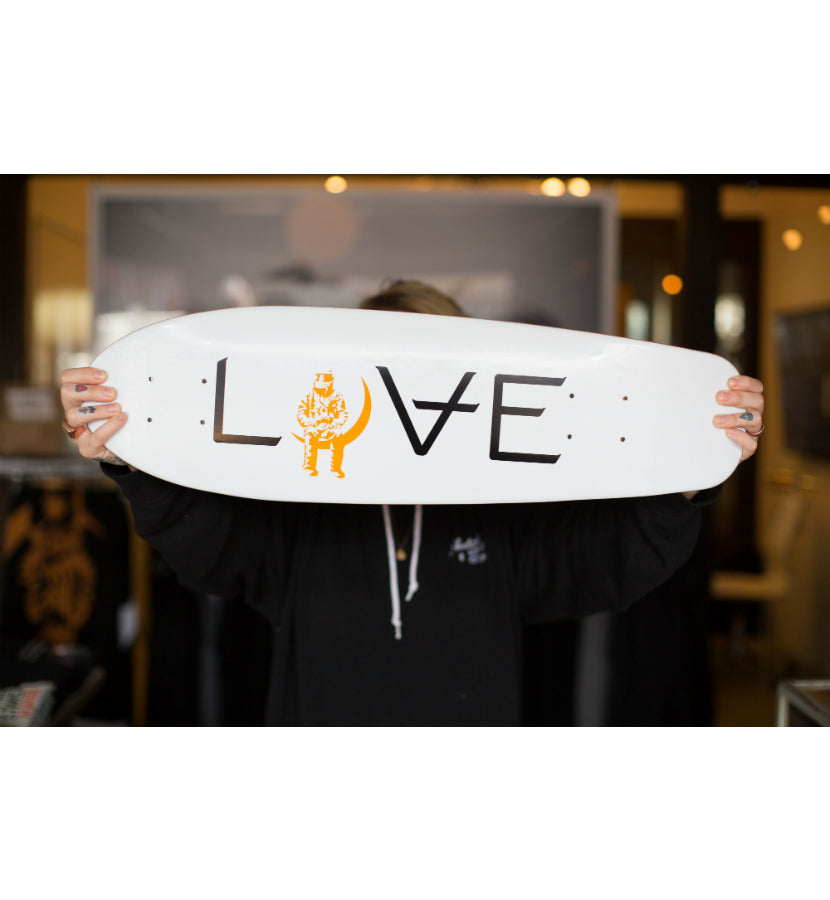 Angels and Airwaves Love Cruiser Deck White/Gold - lifestyle - To The Stars...