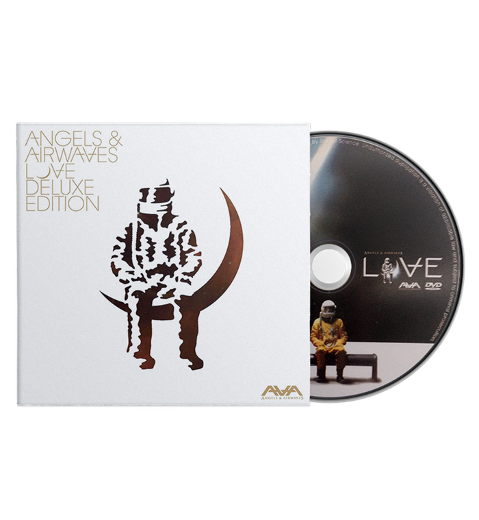 Angels and Airwaves-Love Deluxe Edition CD/DVD-To The Stars...