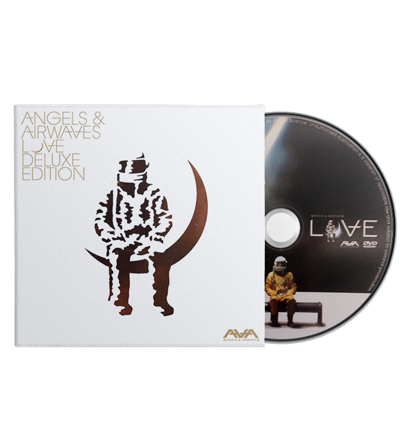 Angels and Airwaves Love Deluxe Edition CD/DVD - To The Stars...