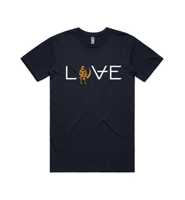 Love Movie T-Shirt Navy