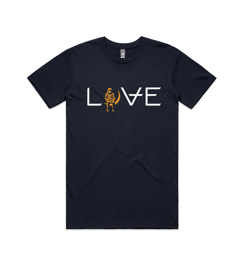 Angels and Airwaves Love Movie T-Shirt Navy - To The Stars...