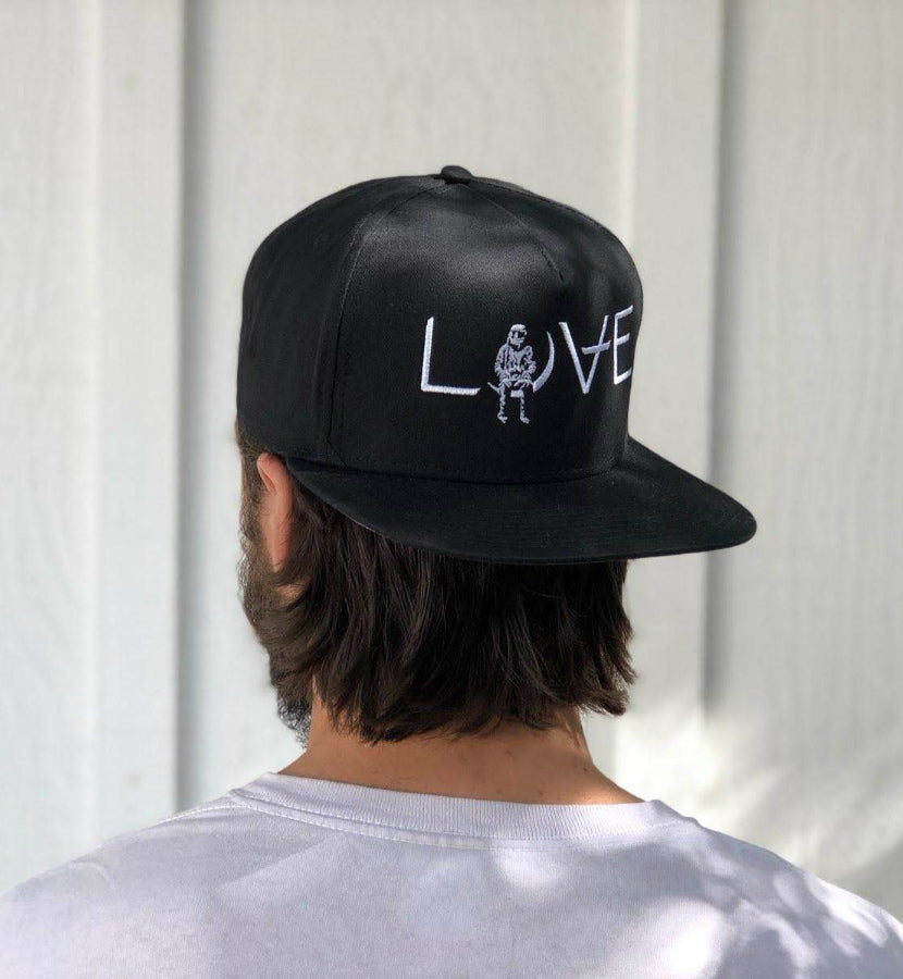 Angels and Airwaves Love Snapback Hat Black/White - To The Stars...