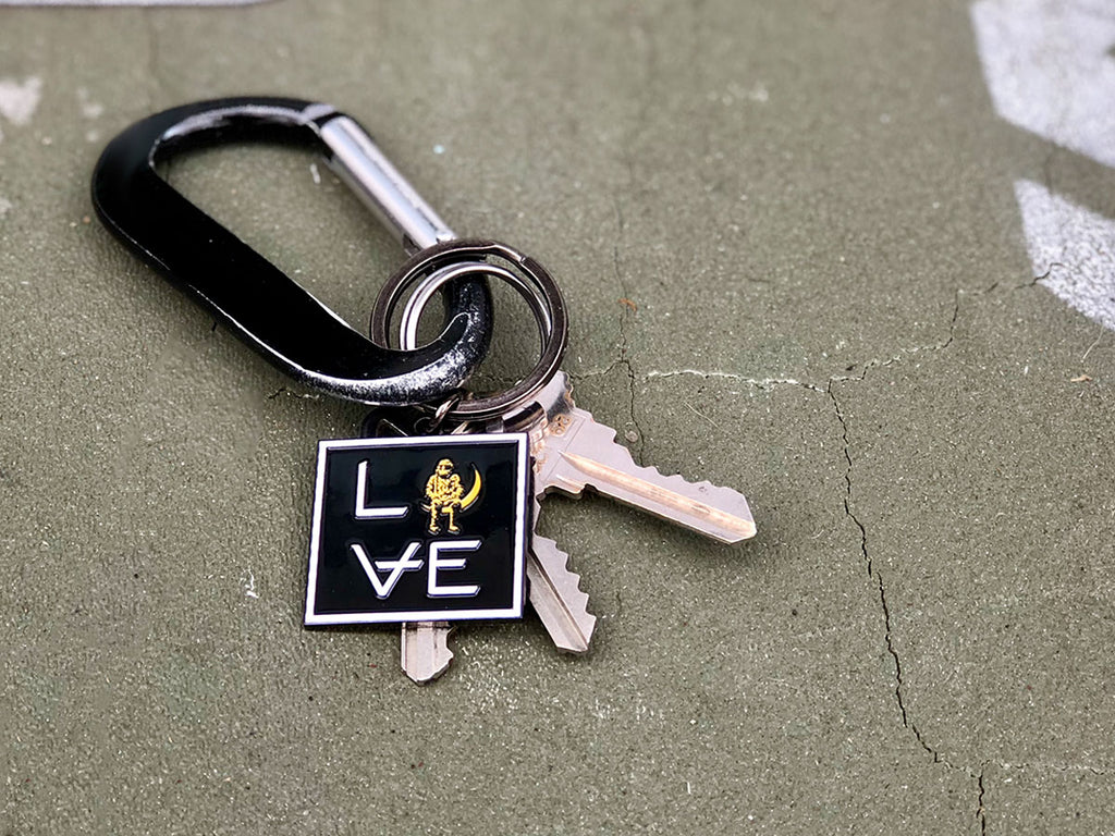 LOVE Stacked Keychain