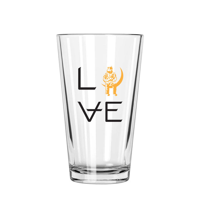 Angels and Airwaves Love Stacked Pint Glass - To The Stars...