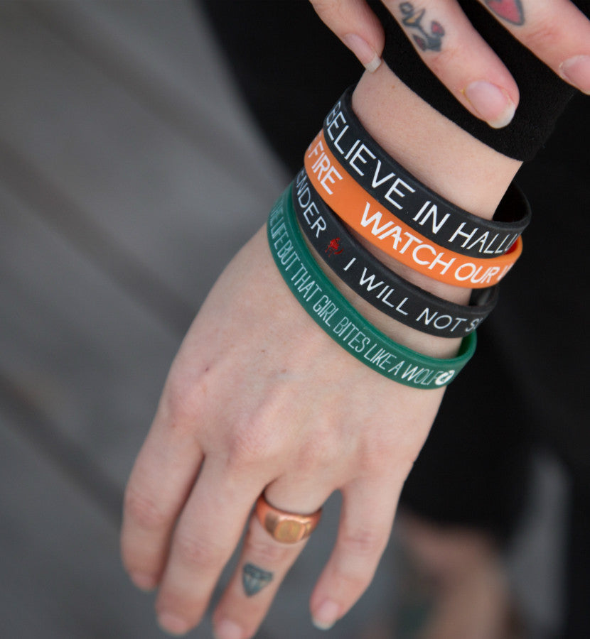Angels and Airwaves Lyric Bracelet Set - Model - To The Stars...