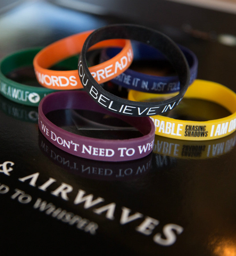 Angels and Airwaves Lyric Bracelet Set - lifestyle - To The Stars...