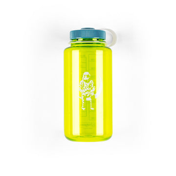 Moon Man 32oz Wide Mouth Nalgene Spring Green