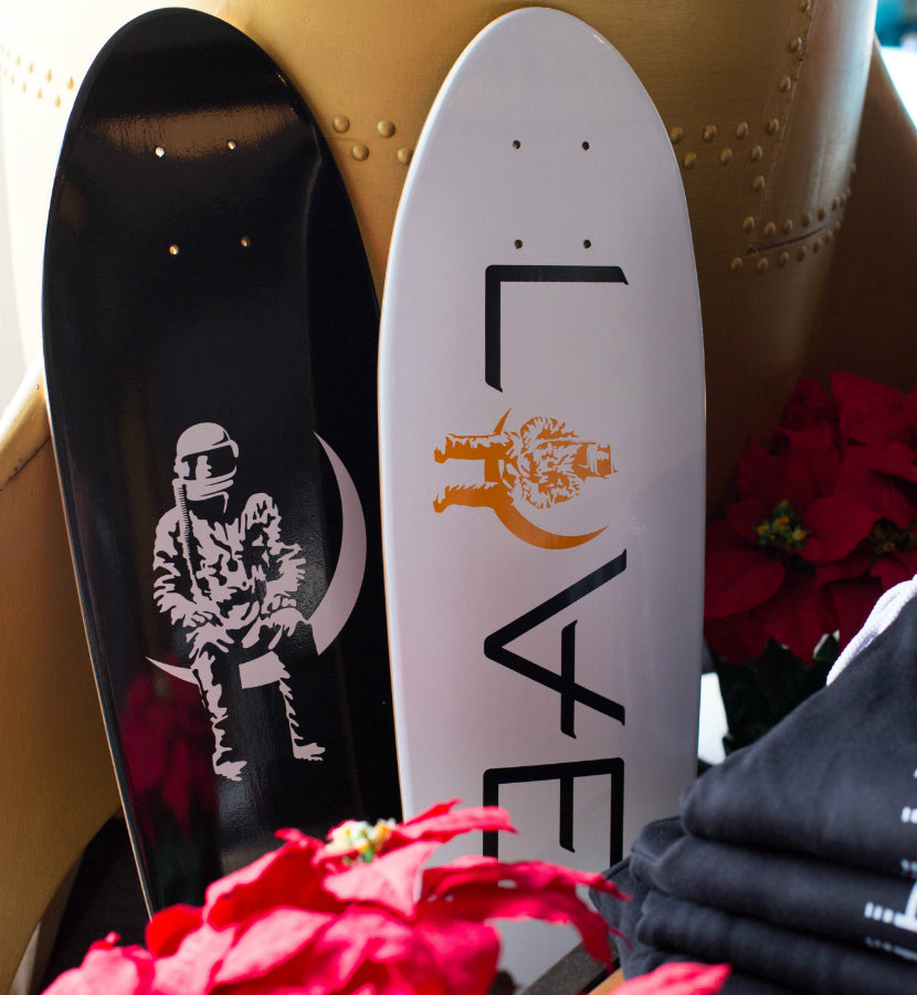 Angels and Airwaves Moon Man Cruiser Deck Black/White - Retail - To The Stars...
