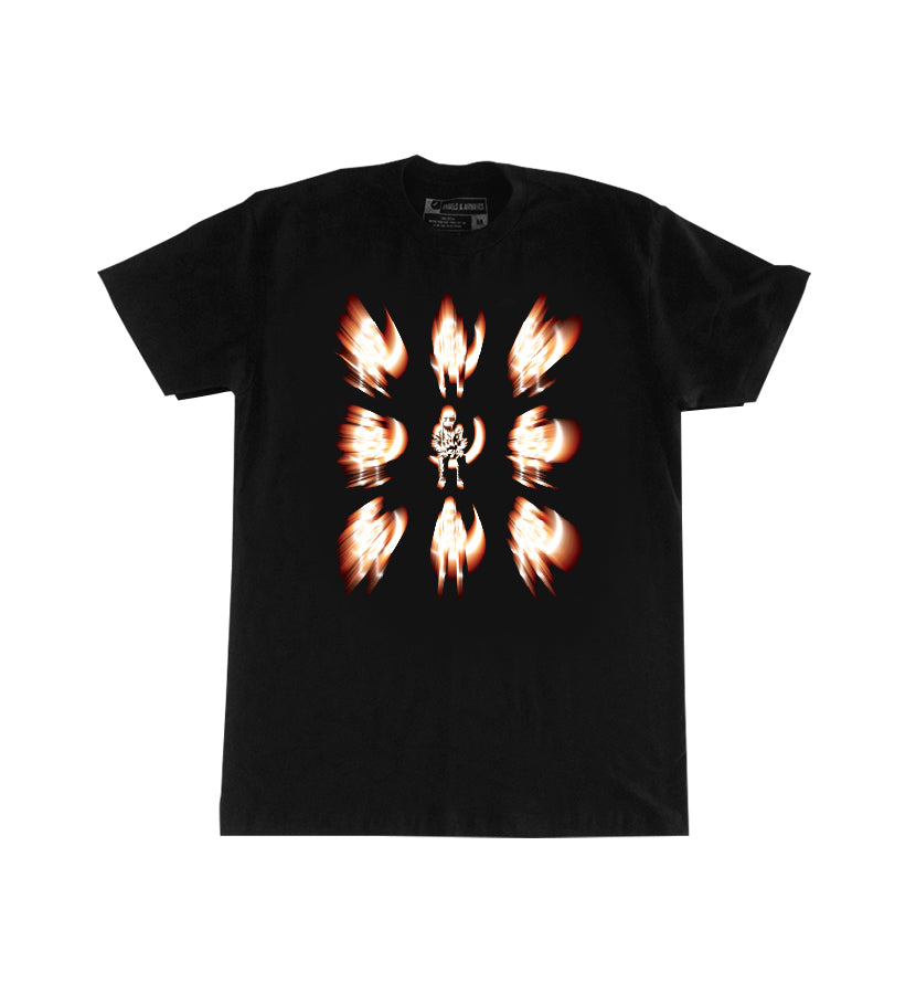 Angels and Airwaves Moon Man Flare T-Shirt Black - To The Stars...