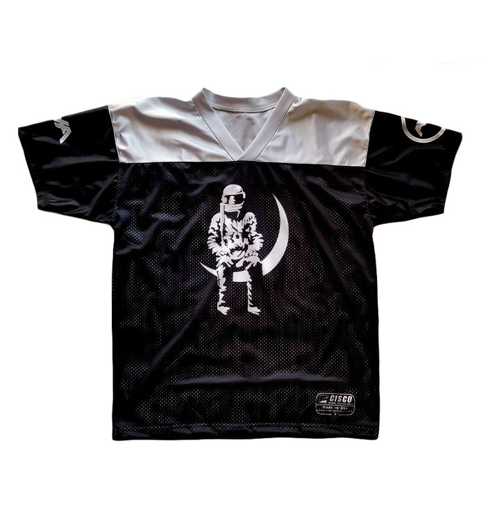 Moon Man Unisex Football Jersey