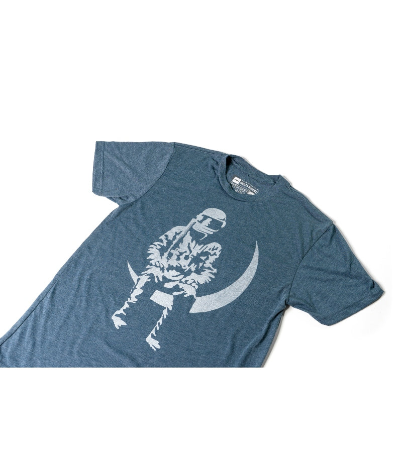 Moon Man T-Shirt Indigo
