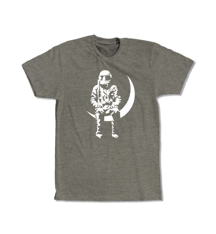 Angels and Airwaves Moon Man T-Shirt Venetian Grey - To The Stars...