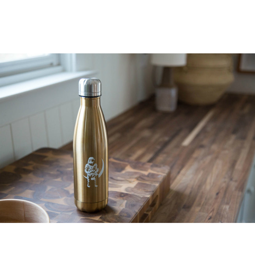 Angels and Airwaves Moon Man Water Bottle Gold - lifestyle - To The Stars...