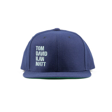 Names Snapback Navy/Teal