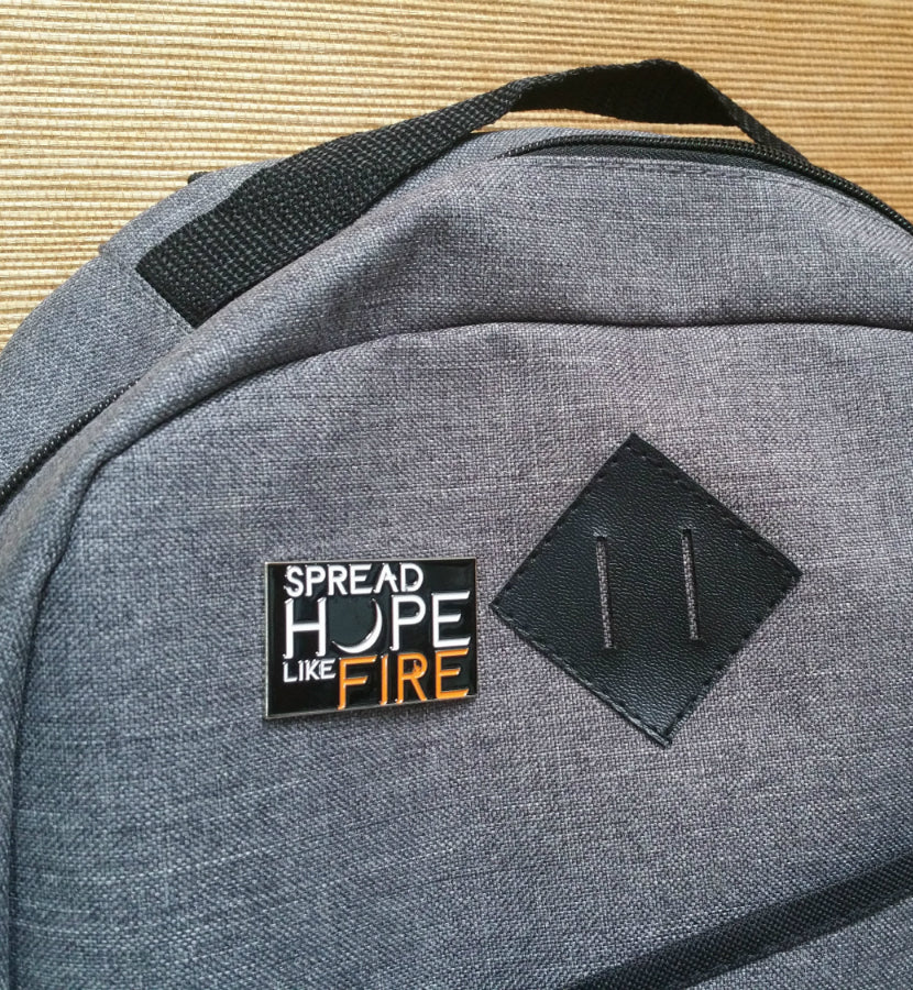 Angels and Airwaves Spread Hope Like Fire Lapel Pin - lifestyle - To The Stars...