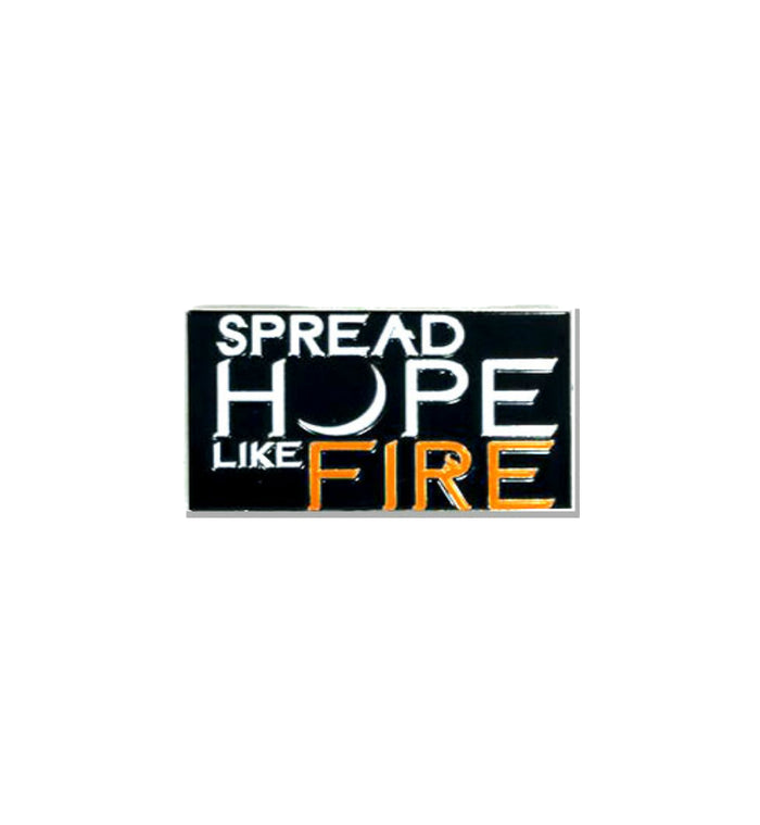 Angels and Airwaves Spread Hope Like Fire Lapel Pin - To The Stars...
