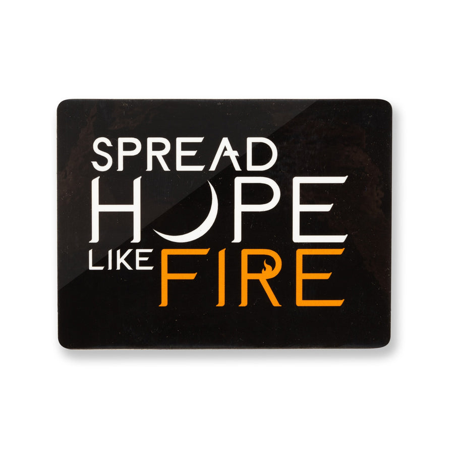 Angels and Airwaves Spread Hope Like Fire Sticker Black - To The Stars...