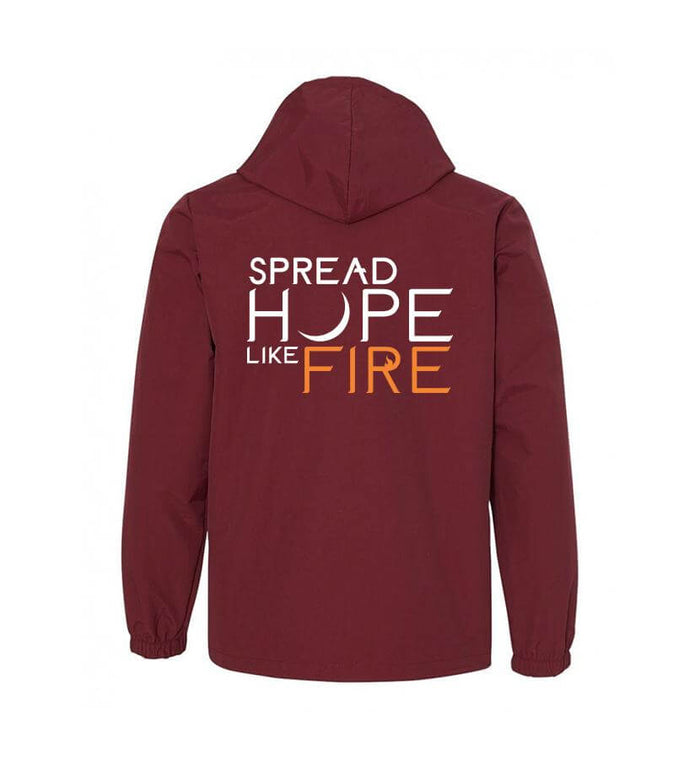 Angels and Airwaves Spread Hope Like Fire Hooded Windbreaker - To The Stars...