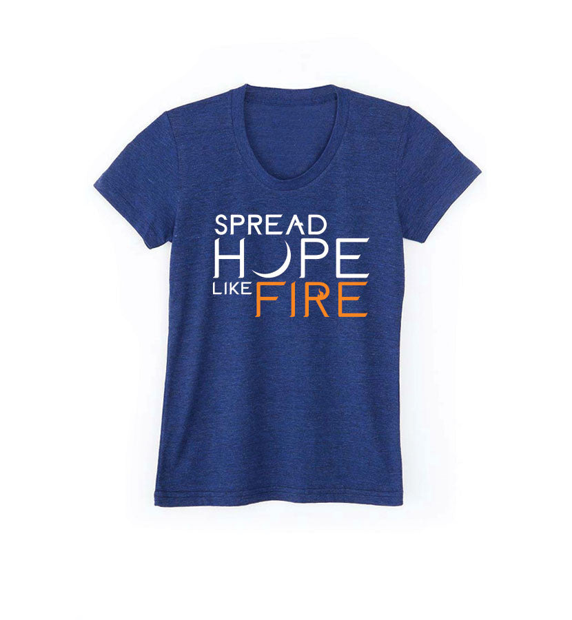 Angels and Airwaves Spread Hope Like Fire Women's T-Shirt - To The Stars - 3