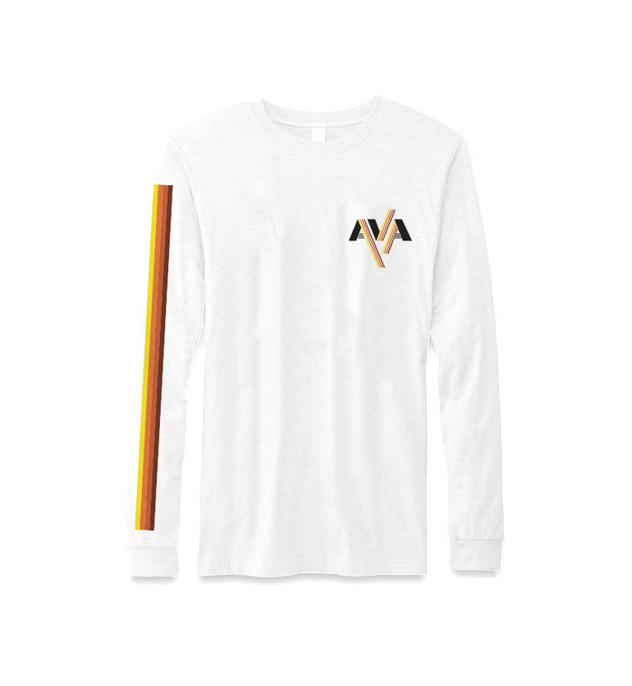 Stripes Band Logo L/S T-Shirt
