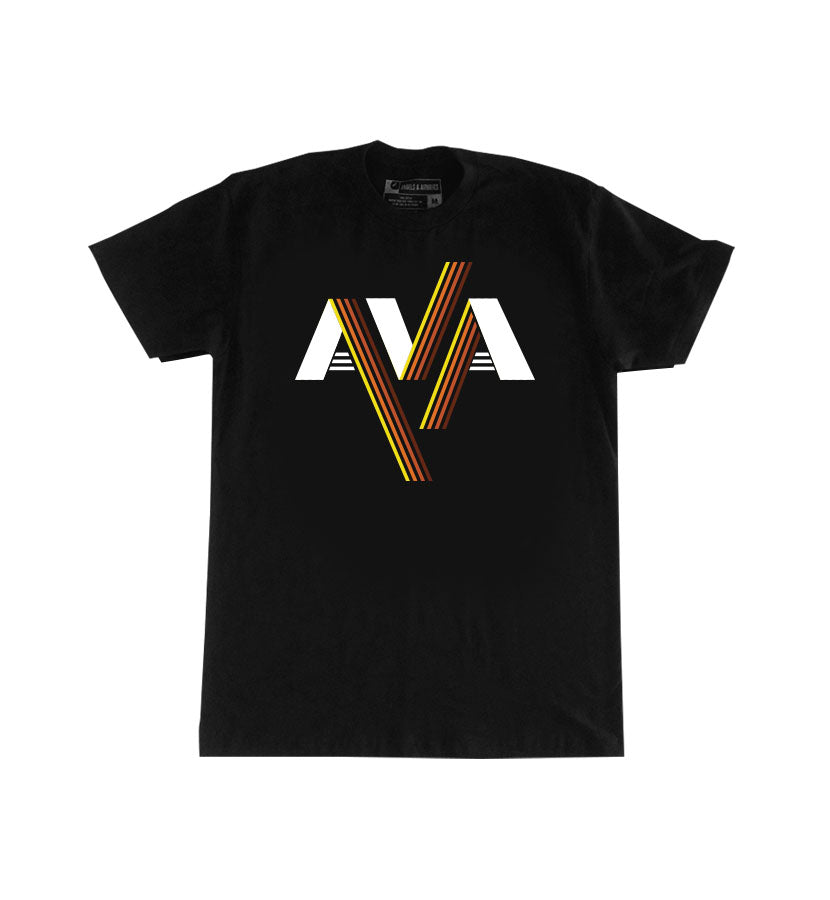 Angels and Airwaves Stripes Band Logo T-Shirt Black - To The Stars...