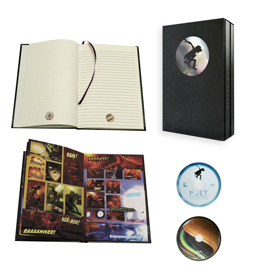 Angels and Airwaves-The Dream Walker CD/DVD Boxset-To The Stars...