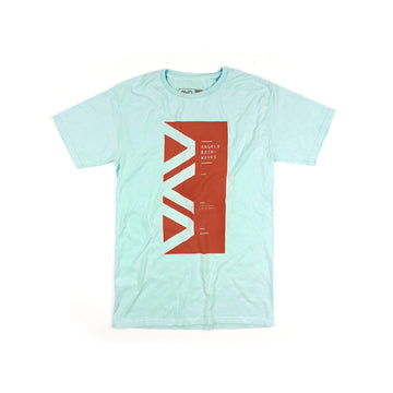 Angels & Airwaves Vert Block T-Shirt Teal | ToTheStars.Media