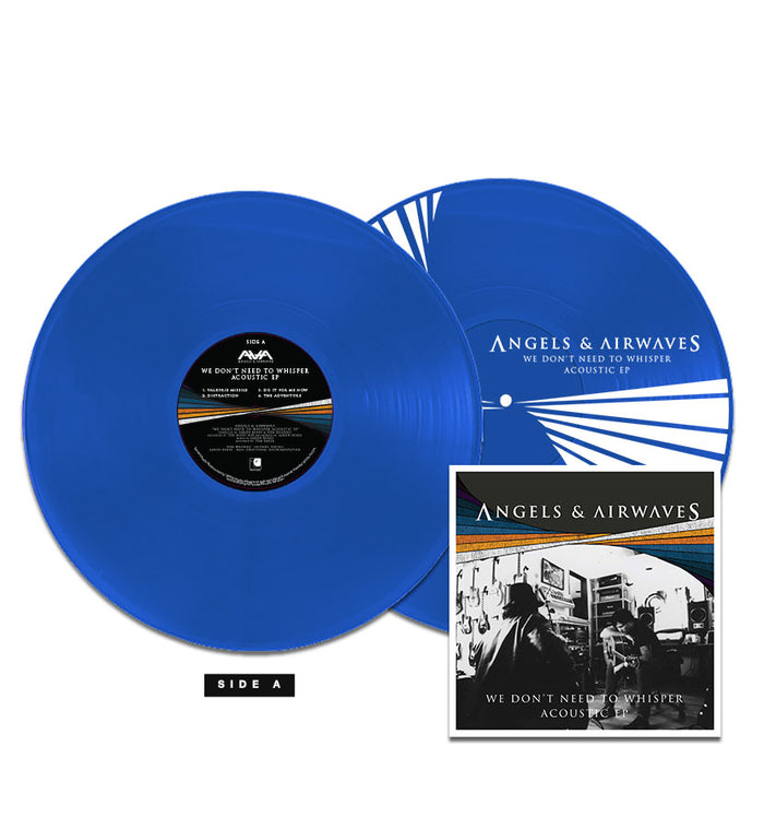 Angels and Airwaves We Don't Need To Whisper Acoustic EP 180g Blue LP + CD - To The Stars...