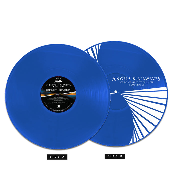 Angels and Airwaves We Don't Need To Whisper Acoustic EP 180g Blue LP - To The Stars...