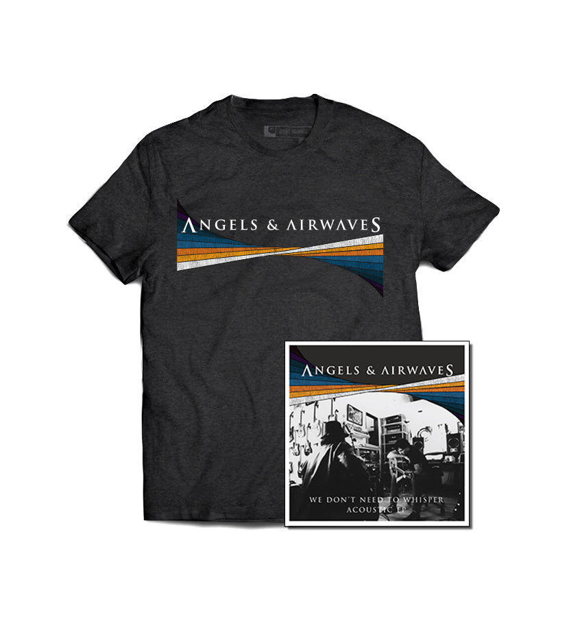 Angels and Airwaves We Don't Need To Whisper Acoustic EP + T-Shirt - To The Stars...