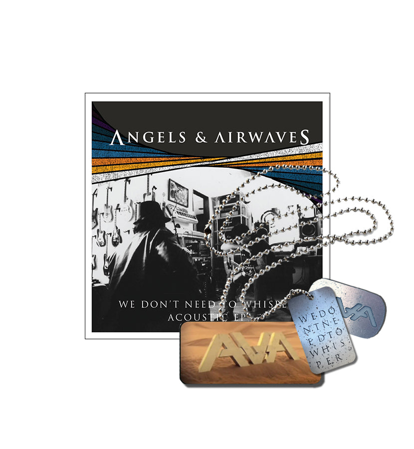 Angels & Airwaves We Don't Need To Whisper Acoustic EP + Dog Tag - To The Stars...