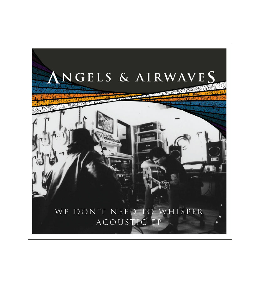 We Don't Need To Whisper Acoustic EP + Dog Tag + T-Shirt