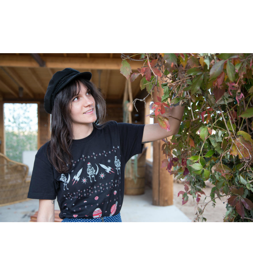 Angels and Airwaves x To The Stars… 2017 Holiday T-Shirt Black - To The Stars...