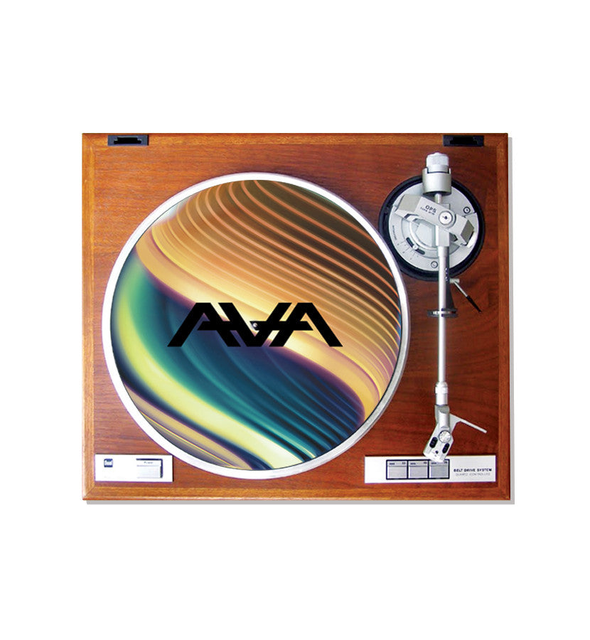 Angels and Airwaves The Dream Walker Orb Slipmat on record player - To The Stars...