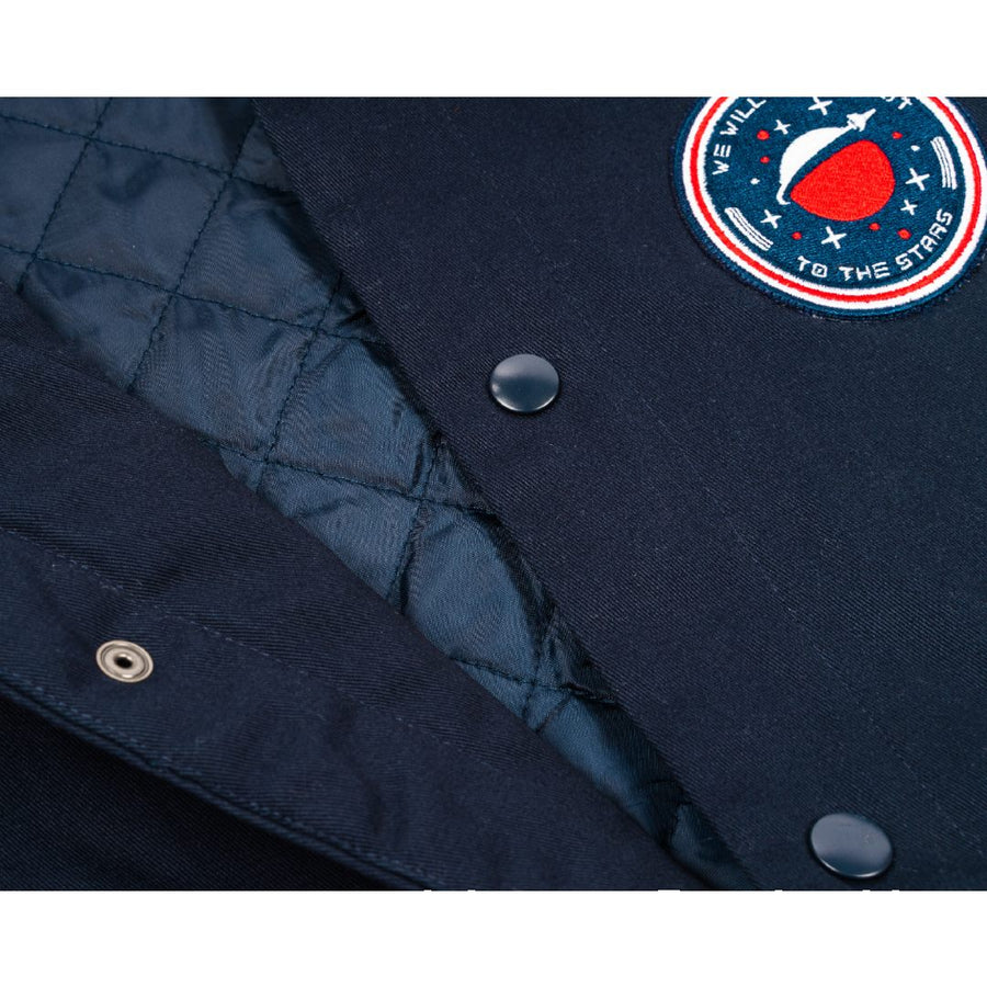 Apollo Patch Jacket Navy