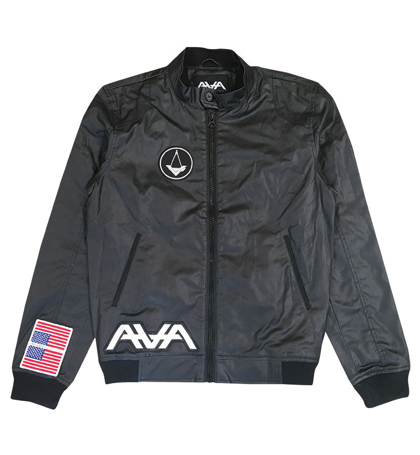 Angels and Airwaves Custom AVA Crest Flight Jacket - To The Stars...