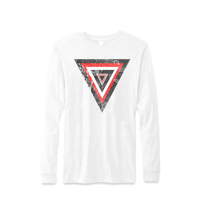 Distressed Valkrys L/S T-Shirt