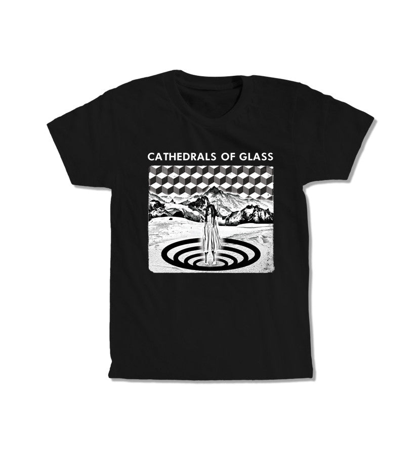 Cathedrals of Glass View From Valkrys T-Shirt in Black - To The Stars