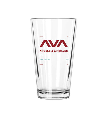 Clean Logo Pint Glass
