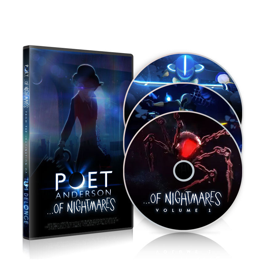 Poet Anderson …Of Nightmares DVD Set - To The Stars - 1