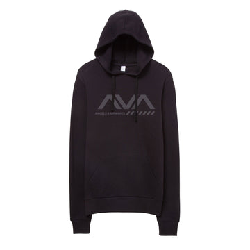 Approach Unisex Pullover Hoodie Faded Black
